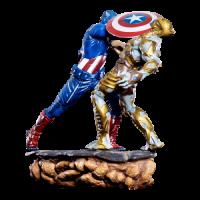 Captain America Battle Scene 1/6 Diorama - The Avengers