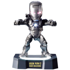 Iron Man 2 War Machine Egg Attack