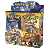 Pokémon Box SOL & LUA Booster 36 Unidades