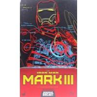 Iron Man Mark III 3 Diecast Hot Toys