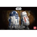 Star Wars R2-D2 e R5-D4 Model Kit 1/12 Bandai
