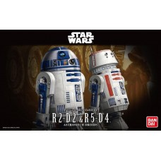 R2-D2 & R5-D4 Model Kit Bandai Original