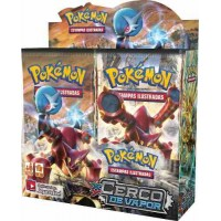 Pokémon Box Xy11 Cerco De Vapor Booster 36 Unidades