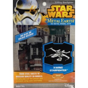 Star Wars X Wing StarFighter - Metal Earth