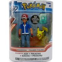 Pokemon Ash + Pikachu - Takara Tomy