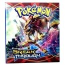 Pasta Fichário Pokémon Break Through Xy