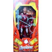 The Avengers: Iron Man Battle Damage 1/4 - Neca
