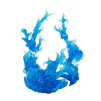 Tamashii burning flame BLUE bandai