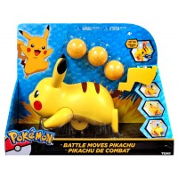 Pokemon Battle Moves Pikachu Toy