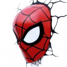 Luminária 3D Rosto do Homem Aranha