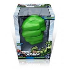 Luminária 3D Mão do Hulk