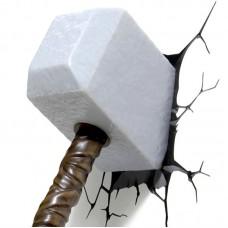 Luminária 3D Martelo do Thor