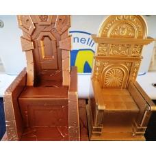 Pack tronos - Poseidon & Mestre Ares em Resina