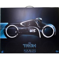 Tron Sam Flynn with Light Cycle - Hot Toys