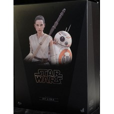 Rey and BB-8 The Force Awakens Hottoys
