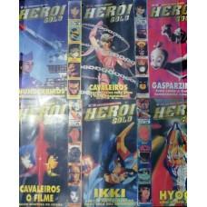 Revista Heroi - Pack Vol. 31,32,35, 36, 38 & 40.