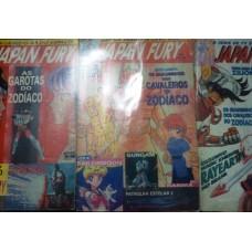 Revista Japan Fury  Vol 2,3 & 4.