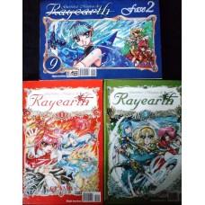 Guerreiras Mágicas de Rayearth Vol. 1,5 & 9.