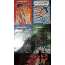 Guerreiras Mágicas de Rayearth Vol. 2, 4, 3, 6 e 7.