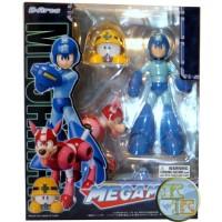 Megaman com Rush & Met -  D-Arts